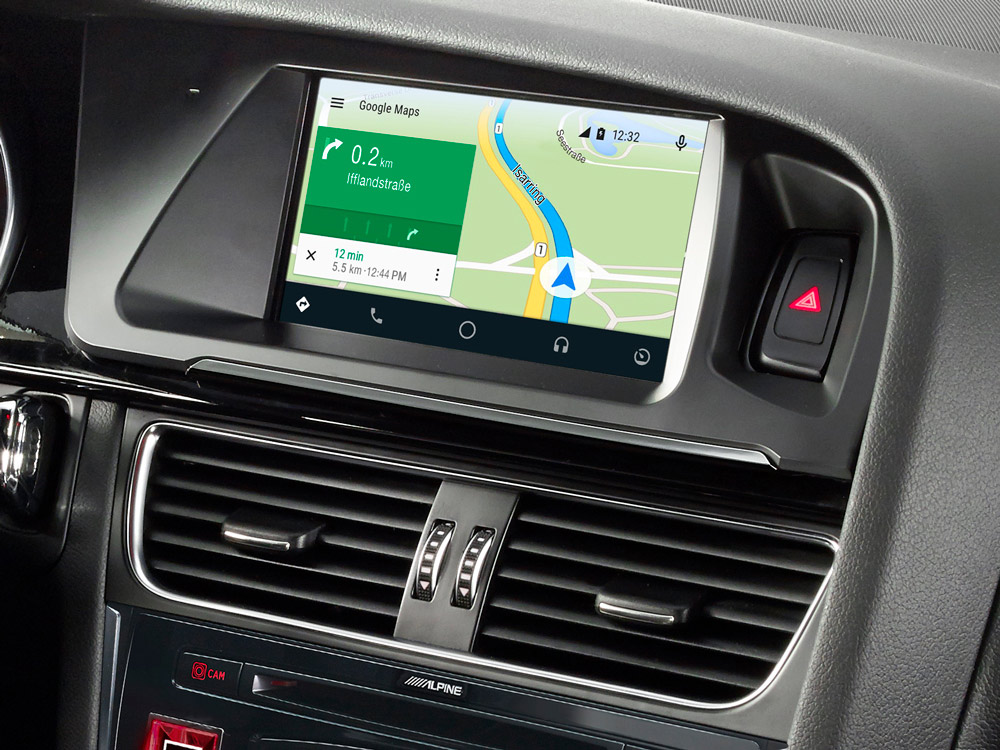 7 Inch Touch Screen Navigation For Audi A4 With Tomtom Maps
