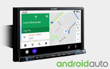 Online Navigation with Android Auto - X803DC-U