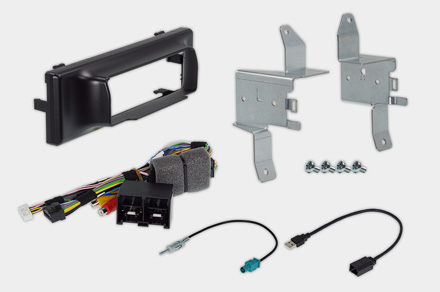 INE-F904TRA - 1DIN installation kit included