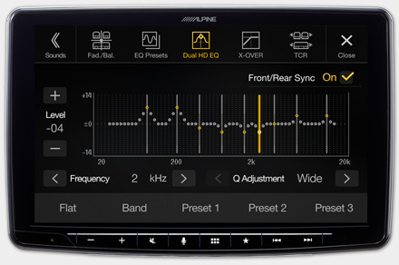iLX-F903TRA - High-end Sound Tuning Options