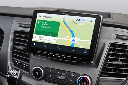 iLX-F903TRA - Online Navigation with Android Auto