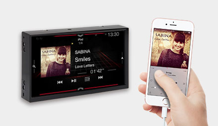 Connect your iPod iPhone - Navigation System X703D-F