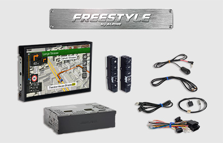 All parts included - Freestyle Navigation System X901D-F
