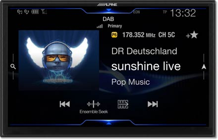 DAB+Digital Radio - Navigation System X903D-F