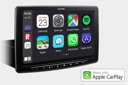 INE-F904S907 - Works with Apple CarPlay