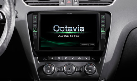 """9"""" Touch Screen Navigation for Skoda Octavia 3 with TomTom"""