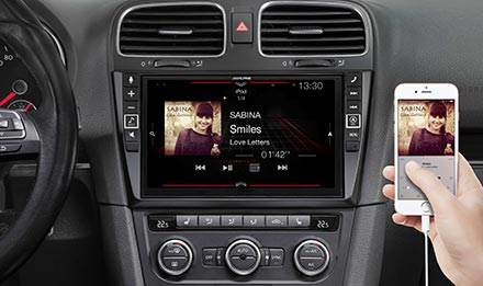 Golf 6 - Connect Your Smartphone - i902D-G6