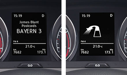 Golf 7 Driver Information Display X902D-G7