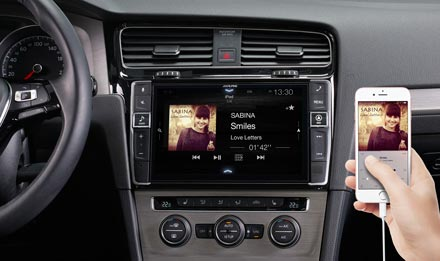 """9"""" Touch Screen Navigation for Volkswagen Golf 7 with TomTom"""