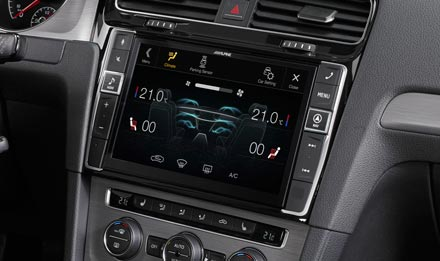 Golf 7 - Air Condition Display - X903D-G7
