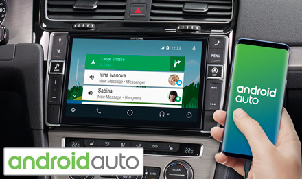 Golf 7 - Works with Android Auto - X903D-G7