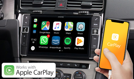Golf 7 - Works with Apple CarPlay - X903D-G7