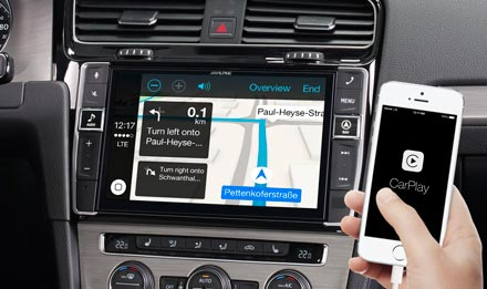 Online Navigation with Apple CarPlay - i902D-G7
