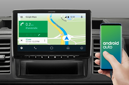 iLX-F903T6 - Online Navigation with Android Auto